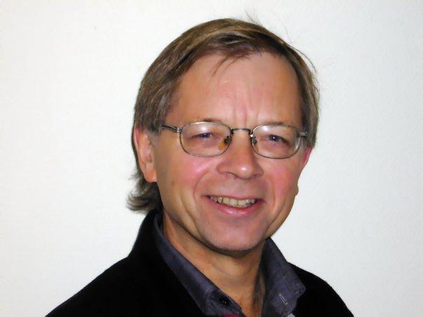 Lektor Arne Tord Sveinall ved Modum Bad.