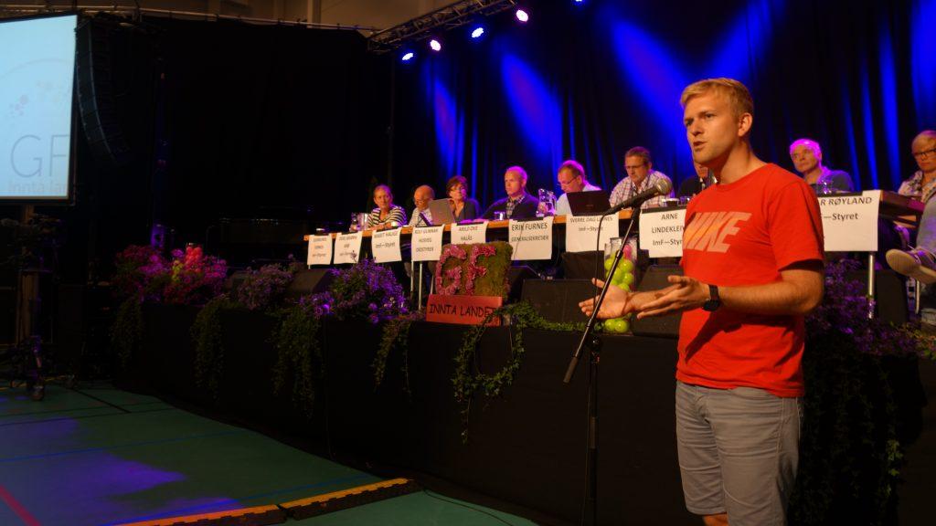 Torgeir Skrunes mener ImF må bryte med Den norske kirke. Foto: Petter Olsen