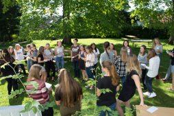 STOR ØKNING: Gå ut senteret økte studentantallet fra 17 første året til 42 andre året i Trondheim. Skoleåret startet forrige helg.