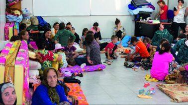 VOLD OG TRUSLER: Kristne konvertitter over hele Europa som flykter fra krig og forfølgelse på grunn av sin tro, snakker ut om trusler og vold de møter i Europa. Bildet viser flyktninger i Irak. Illustrasjonsfoto: Open Doors
