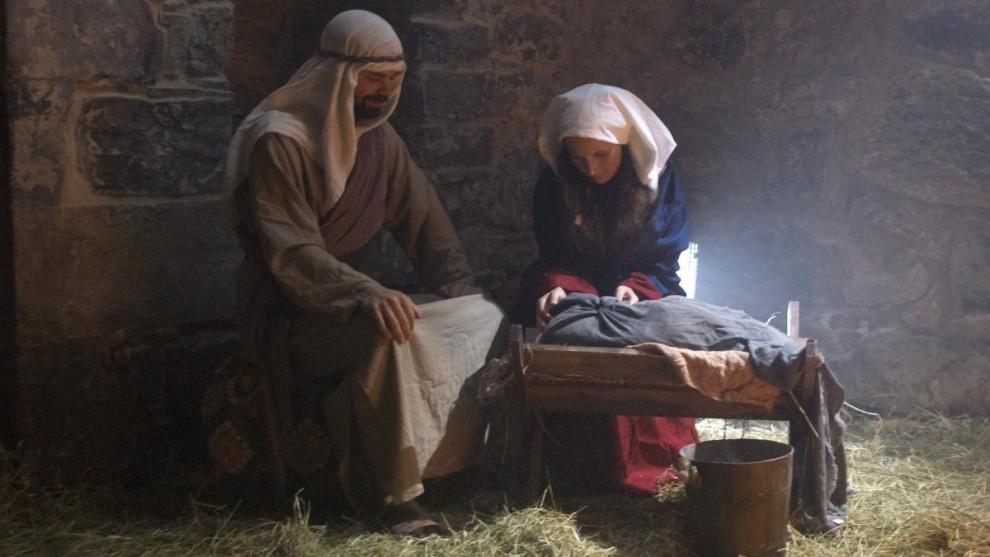 Tårnagentene besøker også stallen i Betlehem